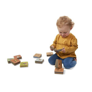 Natural Play Book Tower - Nursery Rhymes