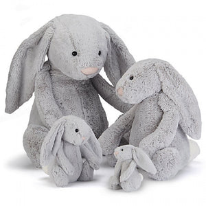 Bashful bunny - Silver - Razberry Kids Co