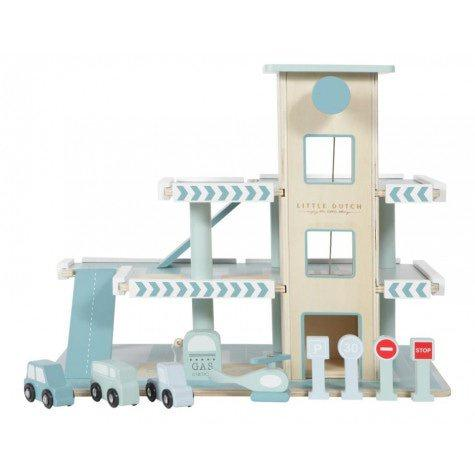 Little Dutch Toy Garage - Razberry Kids Co