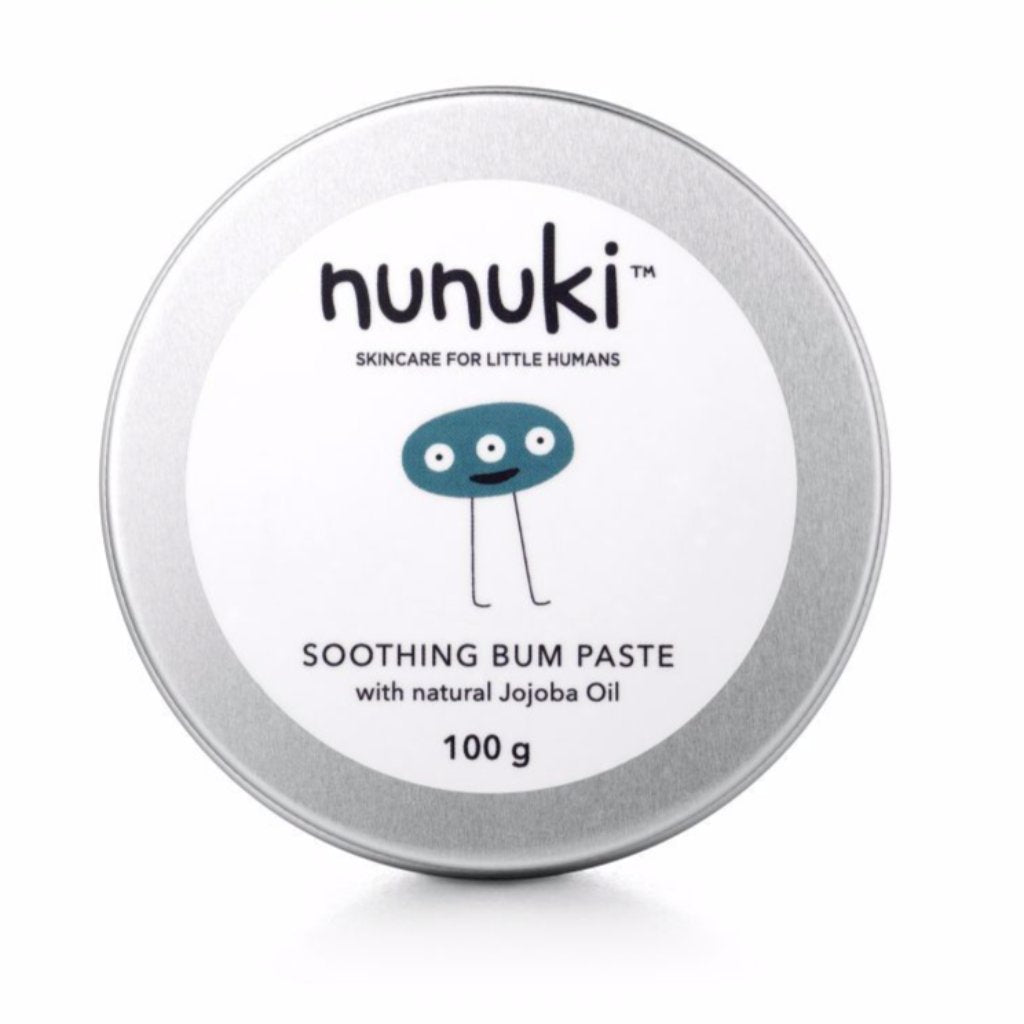 Nunuki Soothing Bum Paste - Razberry Kids Co