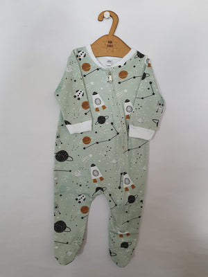 Baba Fishees Romper - Space Center