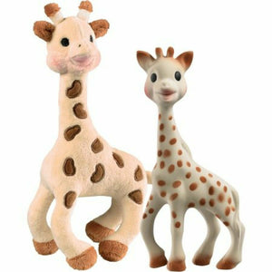 Sophie la giraffe & soft toy - Razberry Kids Co