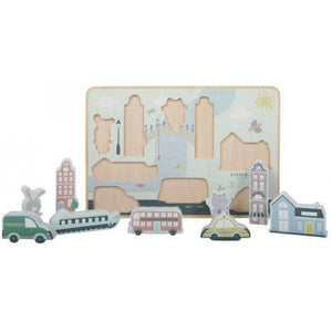Little Dutch Toy Puzzle City - Razberry Kids Co