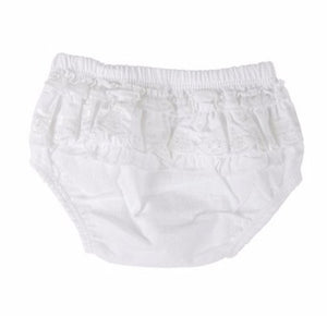 White Lace diaper covers
