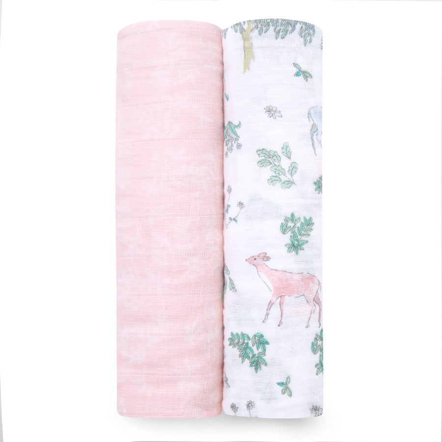 2 Pack Muslin Swaddle - Aidan & Anais - Razberry Kids Co