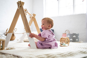 Razberry Kids - Wooden Baby Gym
