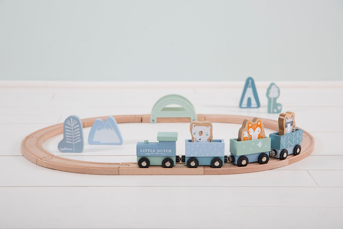LD Train Set - Blue - Razberry Kids Co