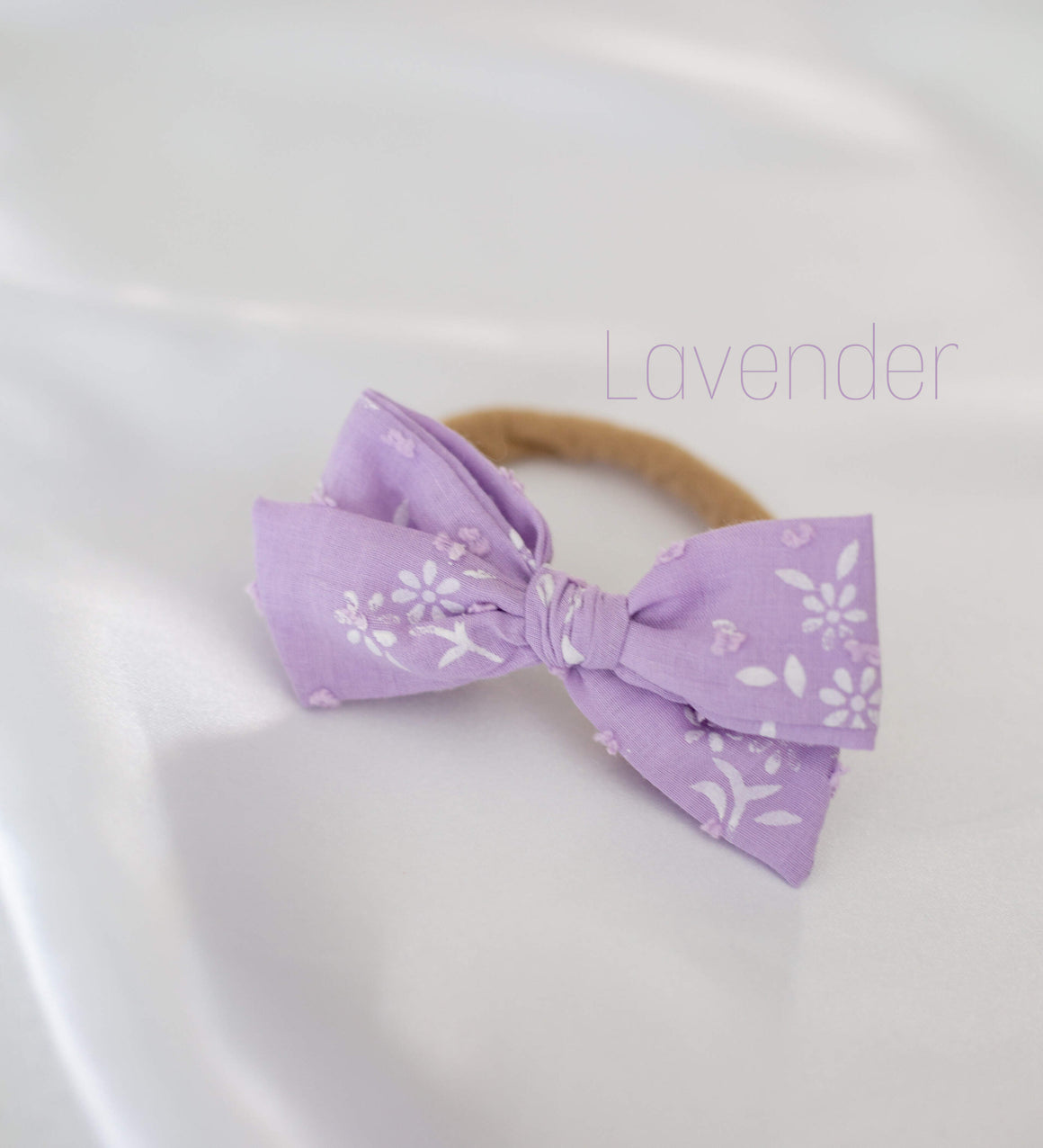 Bow Headbands - Fabric (assorted)