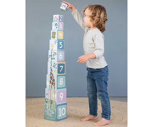 LD Stacking Cube - Zoo - Razberry Kids Co