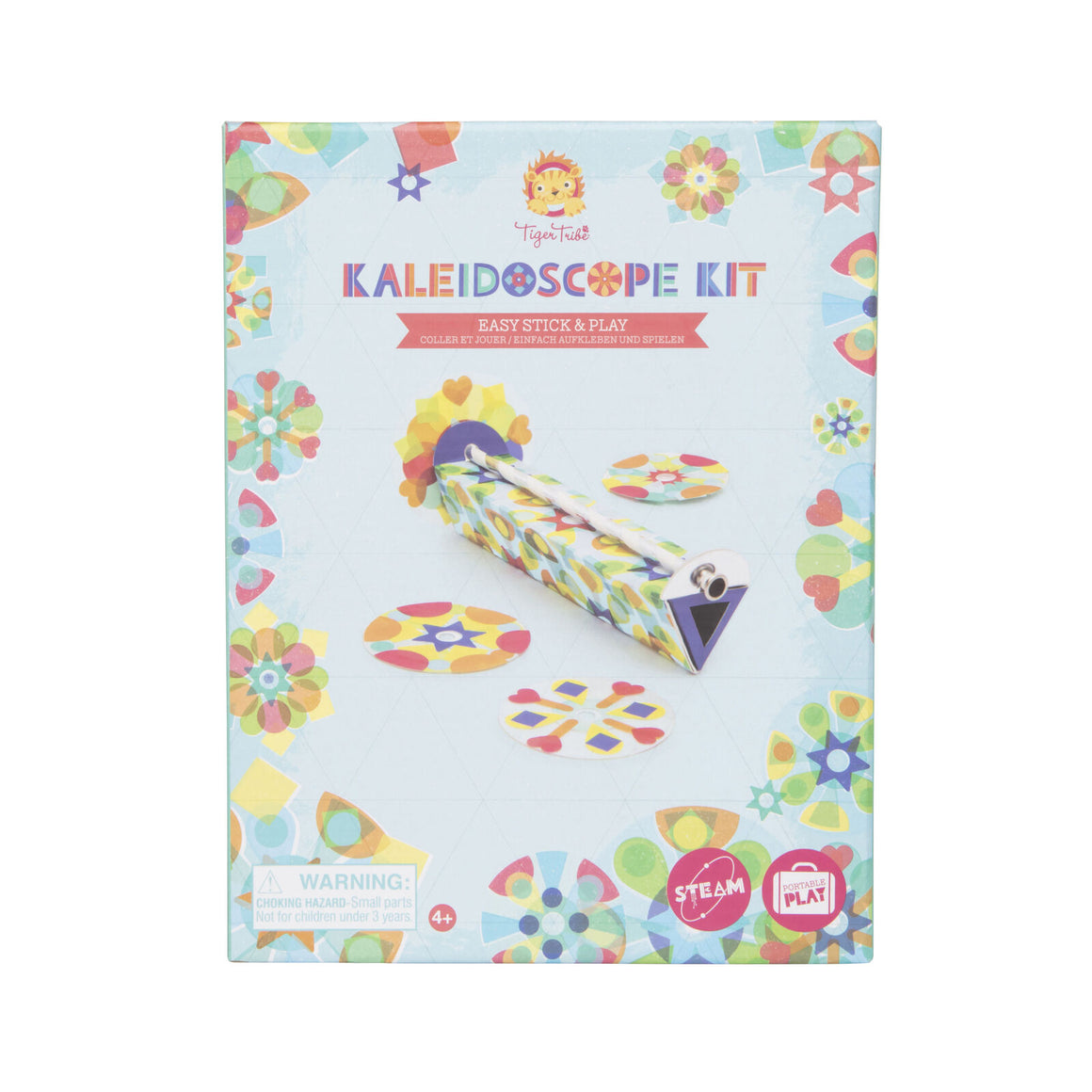 Kaleidoscope Kit - Easy Stick & Play - Razberry Kids Co