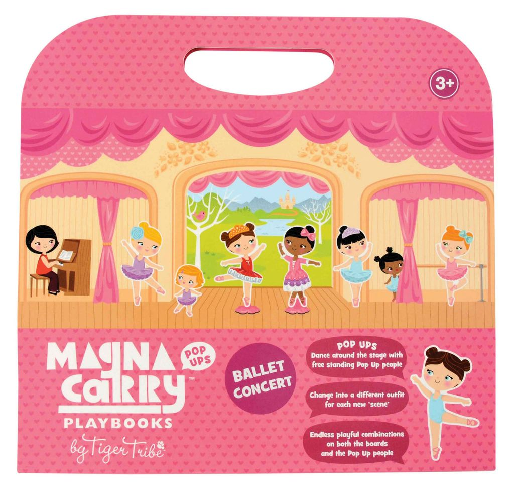 Manga Carry Playbooks - Razberry Kids Co