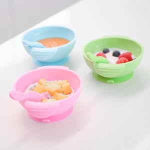 Trendlings Grippy - Silicone Dish, Spoon Lid Set - Razberry Kids Co