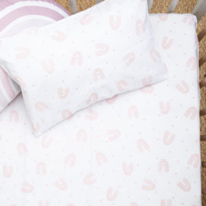 Cotton Percale Duvet + Pillow Sets in various prints - Razberry Kids Co