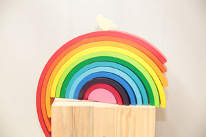 Rainbow Stacker - Razberry Kids Co