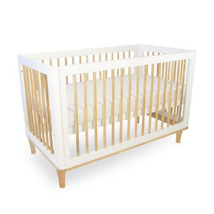 Riya Cot: Converts from Bassinet Level to Cot to Toddler Bed to Day Bed to a 2 Seat Sofa! - Razberry Kids Co