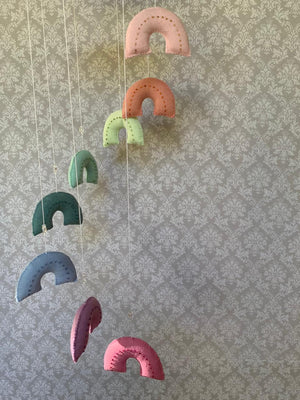 Assorted Felt Cot/ Crib Mobile - Baby Mobile