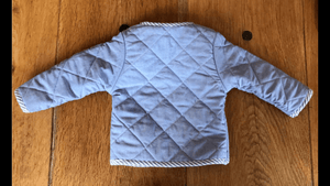 Reversible quilted Jacket - Razberry Kids Co