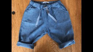 Denim Pants with drawcord - Razberry Kids Co
