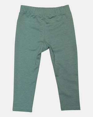 Aqua ponte Knit Tregging - Razberry Kids Co