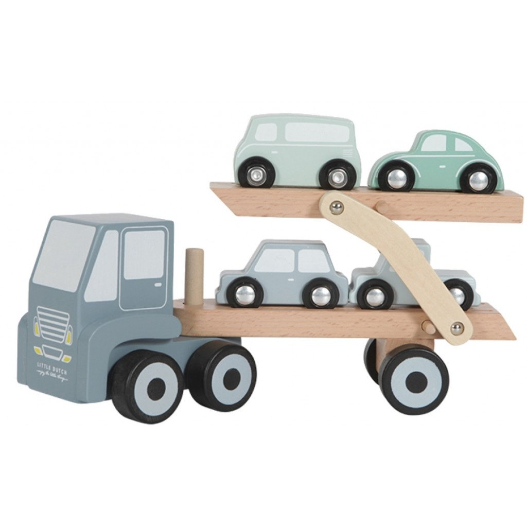 LD Toy Wooden Car Transport - Razberry Kids Co