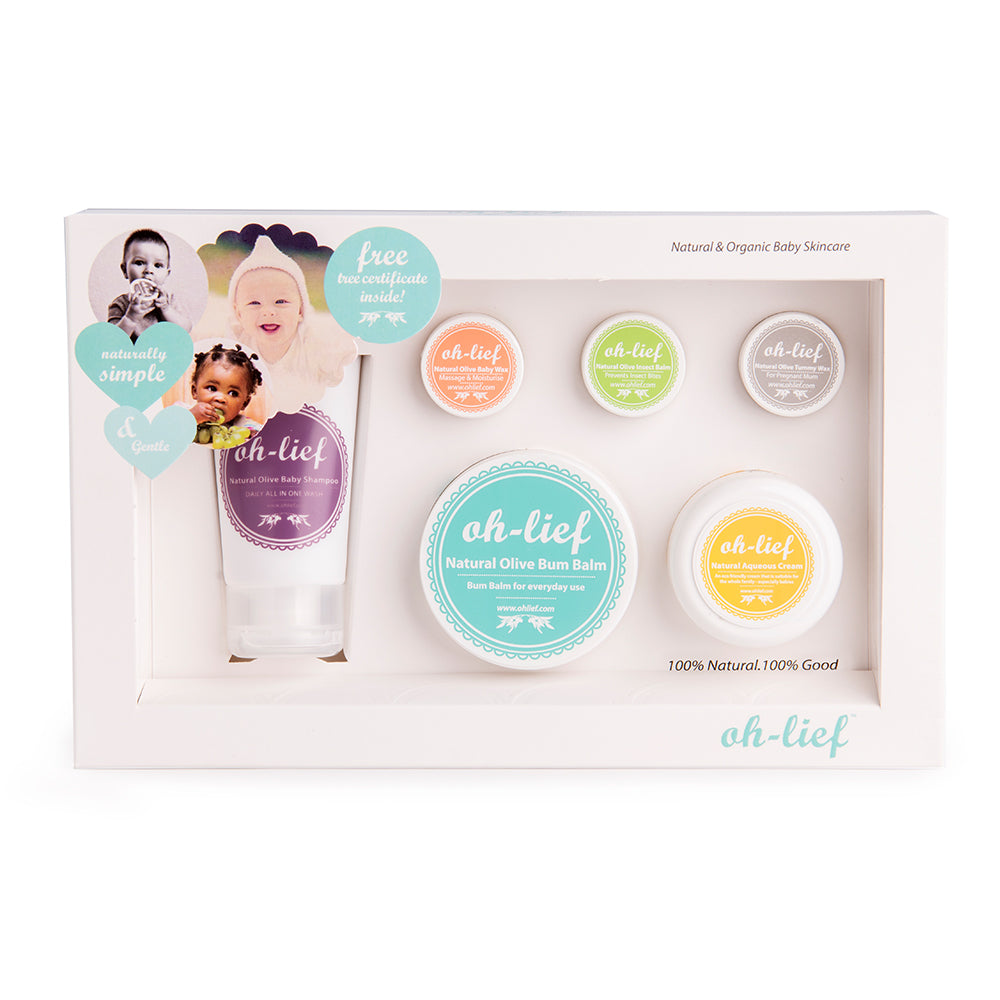Oh Lief Baby Box - 6 products - Razberry Kids Co
