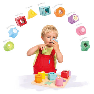 Petilou Sensory Shapes - Razberry Kids Co