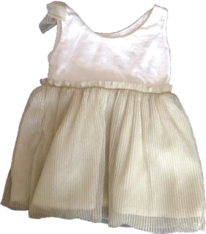 Soft Golden Tutu Dress - Razberry Kids Co