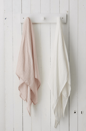 2 muslin wraps - Razberry Kids Co