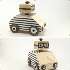 Wooden Doodles Car - Razberry Kids Co