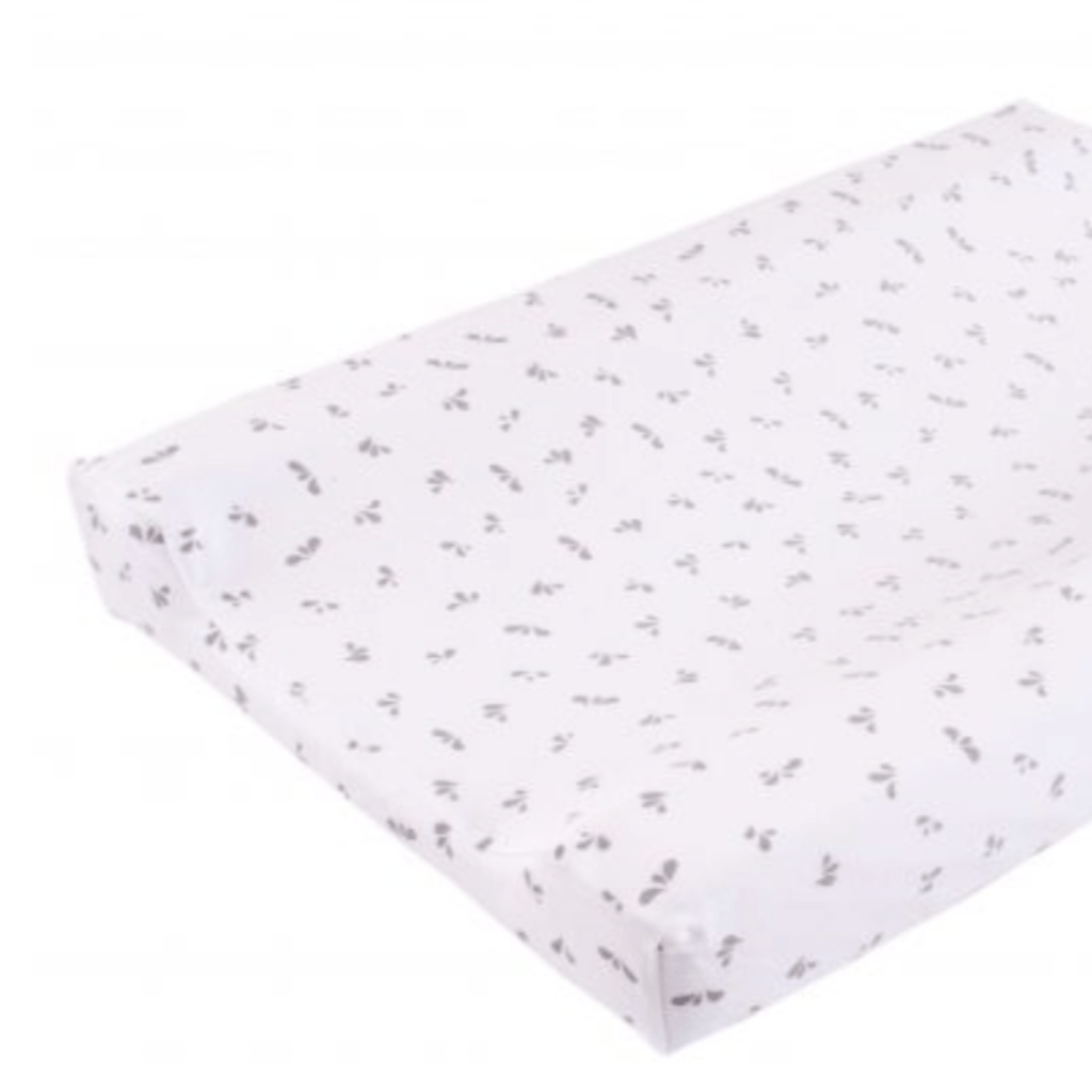 Changing Mat cover - Grey Droplet print (C) - Razberry Kids Co