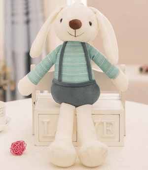Bunny with Dungarees - Razberry Kids Co
