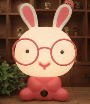 Night Light - Rabbit + Glasses - Razberry Kids Co