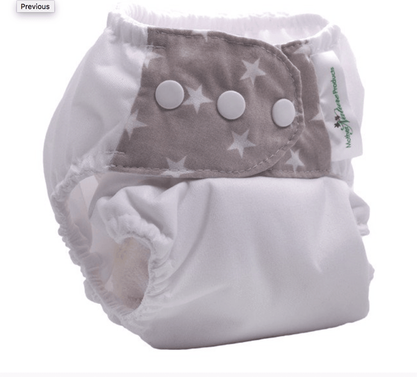 All in 3 reusable bamboo nappy - various colours available - Razberry Kids Co