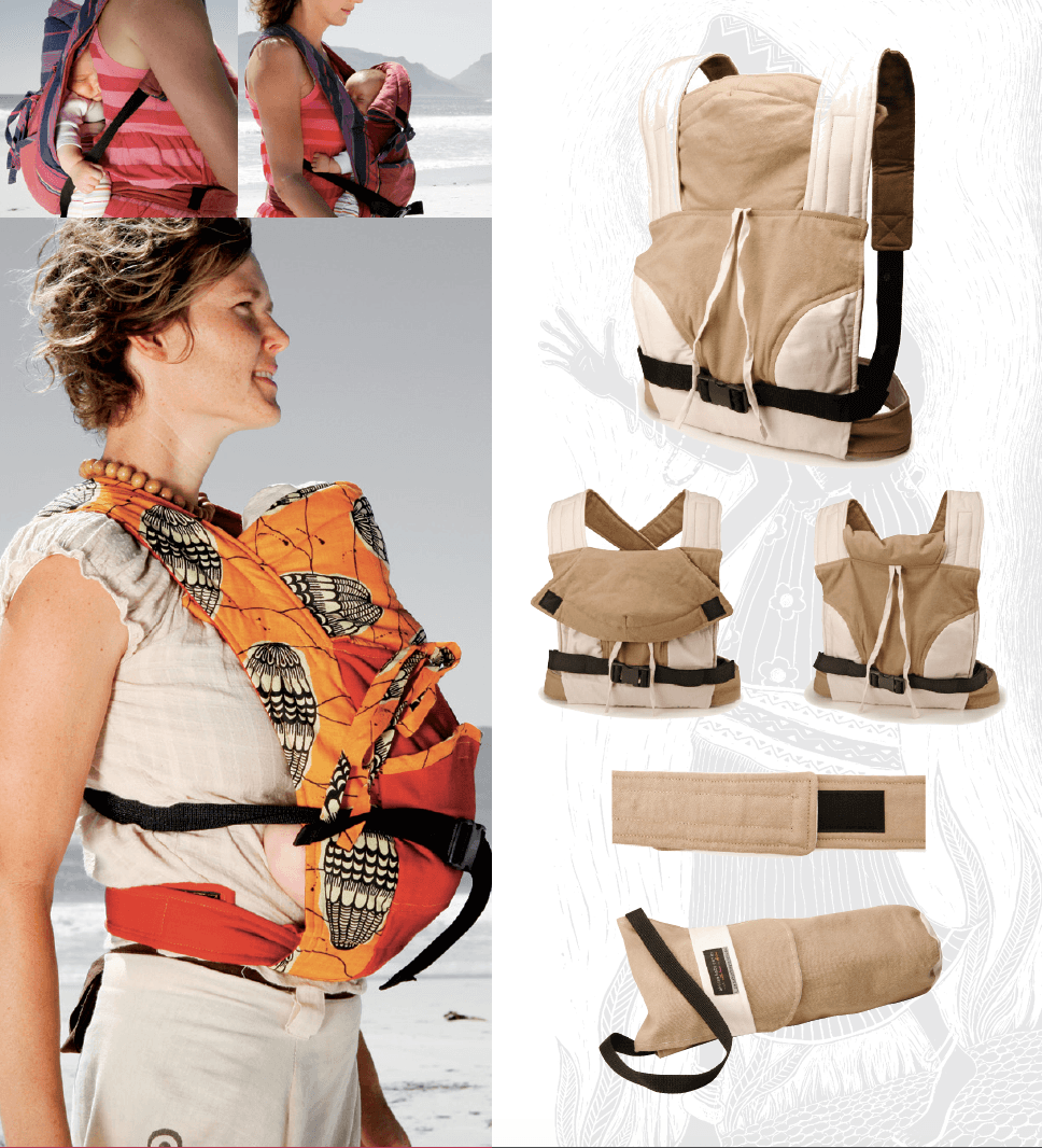 African Baby Carrier - newborn - Razberry Kids Co
