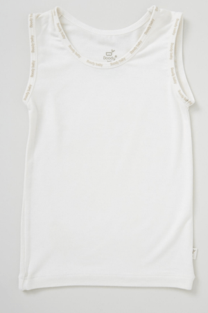 Bamboo knit singlet - Razberry Kids Co