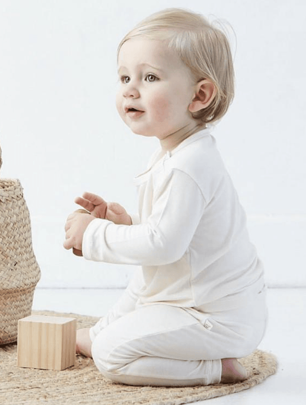 Bamboo knit Long sleeve top - Razberry Kids Co
