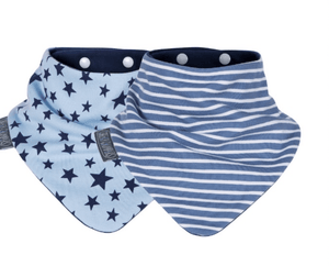 Twinpack reversible bib - Razberry Kids Co