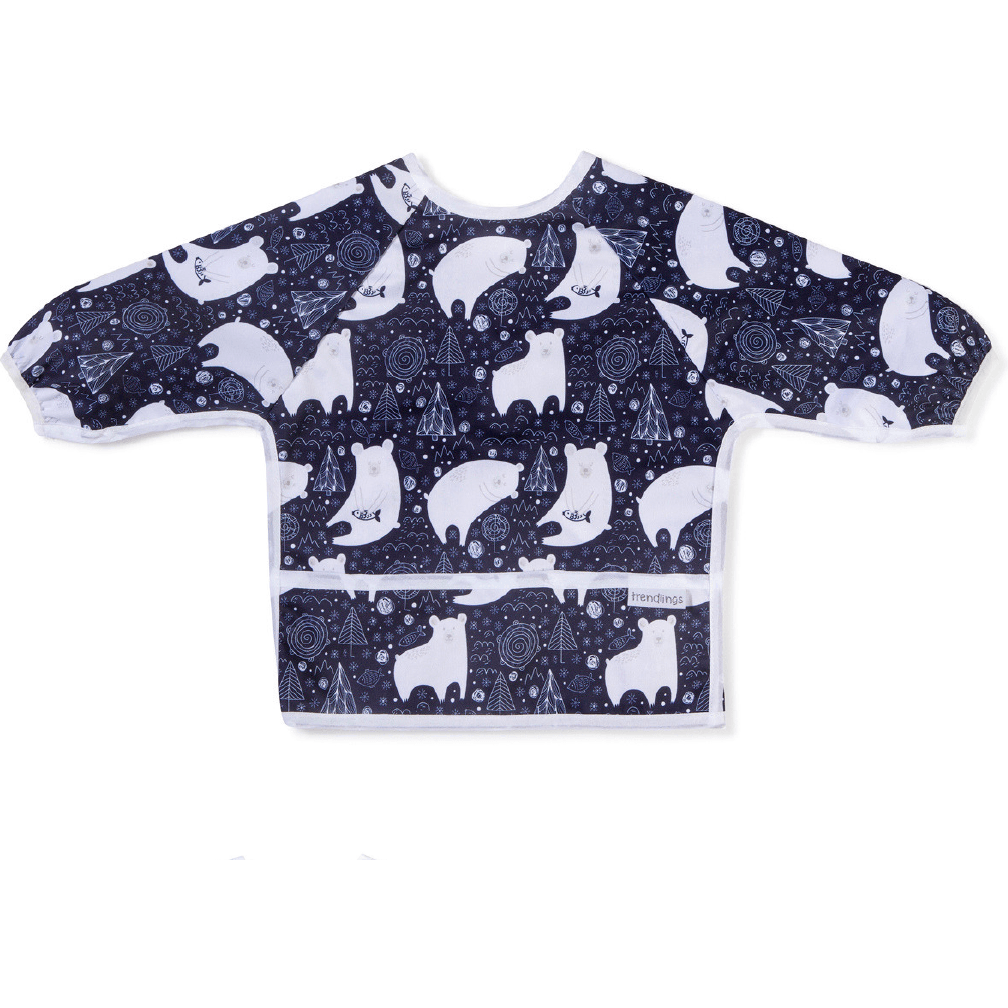 Trendlings Long Sleeve Bib 1-3 years - Razberry Kids Co