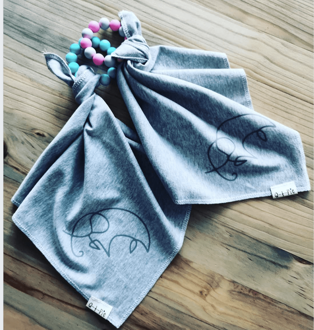 Teething Blanket - Razberry Kids Co