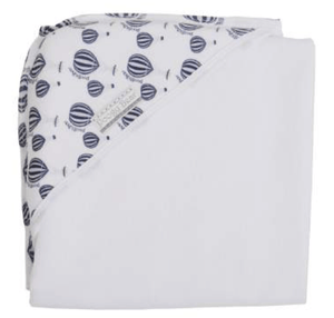 Balloon print combo hooded towel - Razberry Kids Co