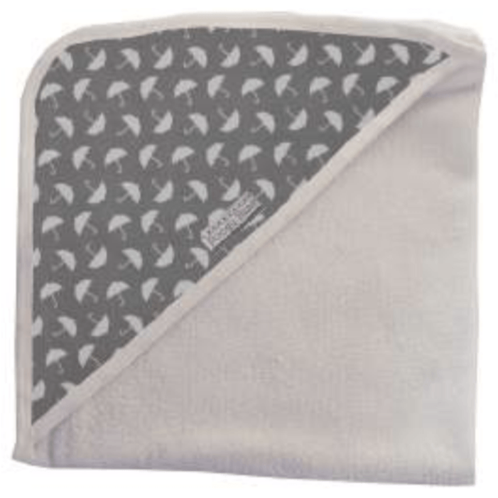 Umbrella print combo hooded towel - Razberry Kids Co