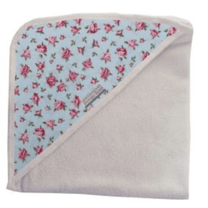 Floral print combo hooded towel - Razberry Kids Co