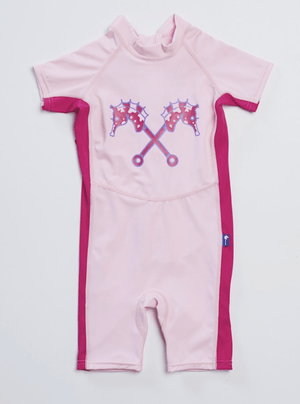 Sun protection Swimwear - PINK - Razberry Kids Co