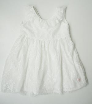 Milk Lace Girls Dress - Razberry Kids Co