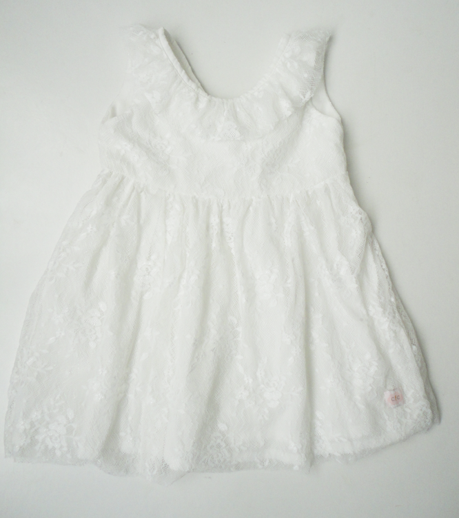 Milk Lace Dress - Razberry Kids Co
