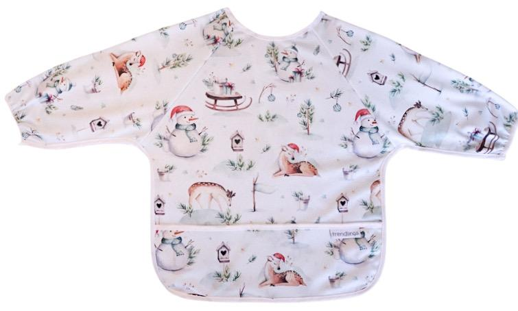 Trendlings Long Sleeve Baby Bib - 6-18 months