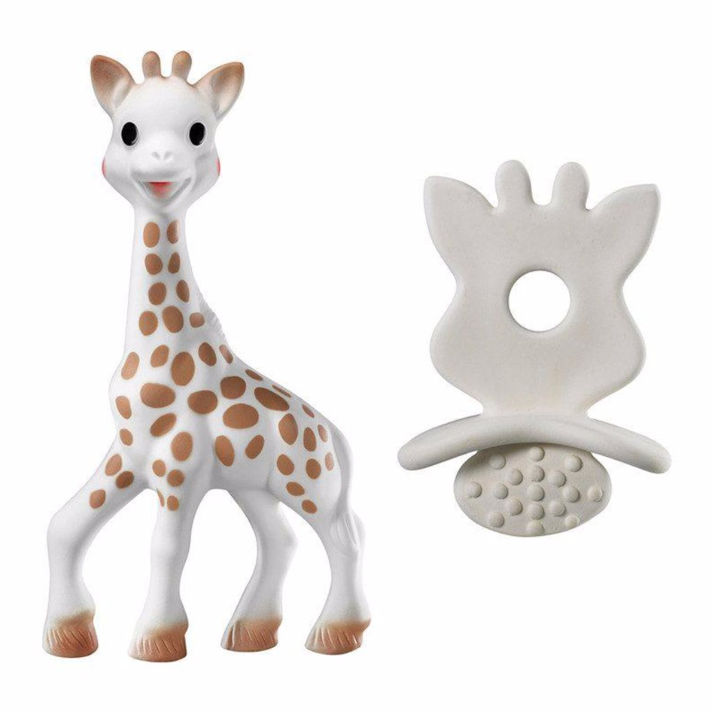 Sophie la Giraffe & chewing rubber - Razberry Kids Co