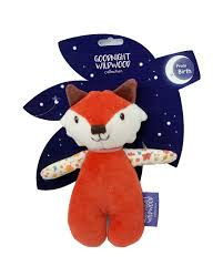 Goodnight Wildwood - Fox Squeaker - Razberry Kids Co