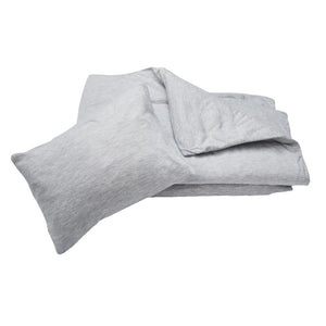 Duvet & Pillow Case - Grey (C) - Razberry Kids Co