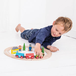 My First Train Set - Razberry Kids Co